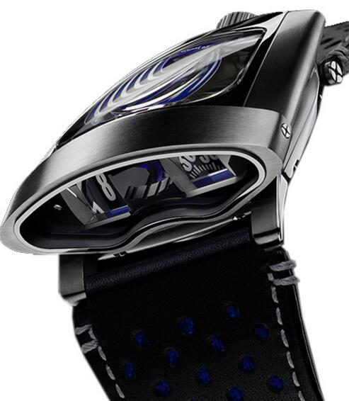 Replica MB & F HMX 56.STBL.B 10TH ANNIVERSARY BLUE 2015 watch
