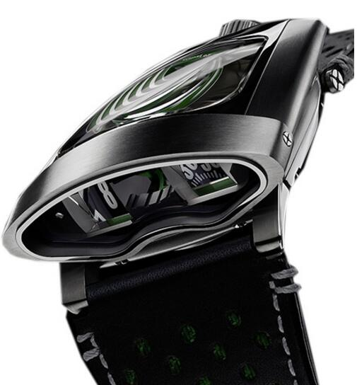 Replica MB & F HMX 56.STGL.B 10TH ANNIVERSARY GREEN 2015 watch