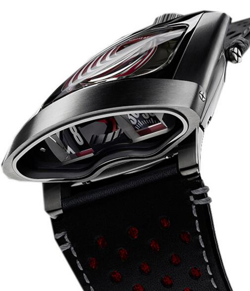 Replica MB&F HMX 56.STRL.B 10TH ANNIVERSARY RED 2015 watch