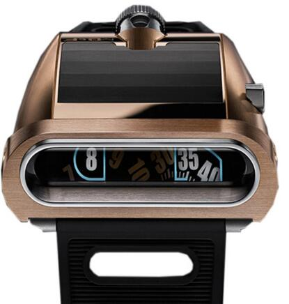 MB & F Replica 55.RL.B HM5 On the Road Again Red Gold and Titanium watch