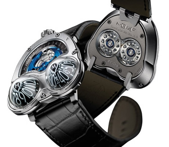 MB & F HOROLOGICAL MACHINE N3 FROG GRADE 5 TITANIUM 32.TL.B Replica watch