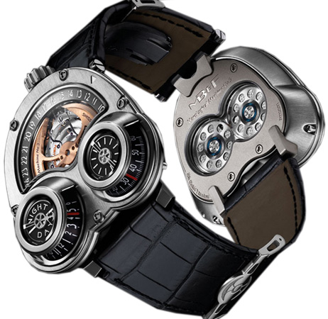 MB & F Replica HOROLOGICAL MACHINE N3 STARCRUISER WG 30.WTL.B watch