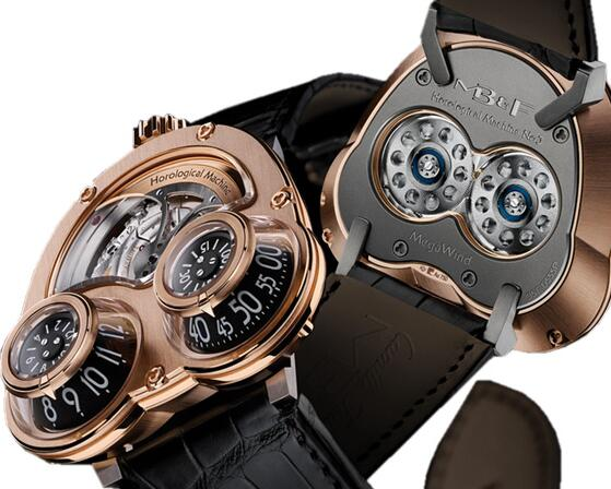 MB & F horological machine Replica 35.RTL.B HM3 MegaWind Red Gold watch