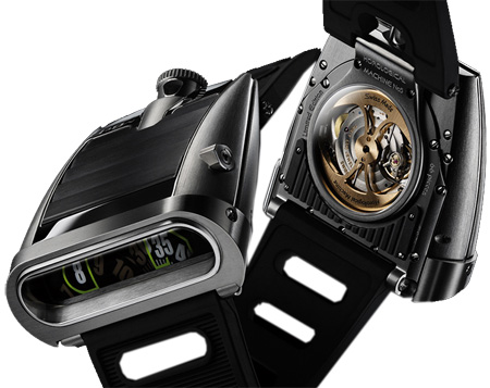 MB & F Replica 55.ZL.B HM5 On the Road Again Zirconium watch - Click Image to Close