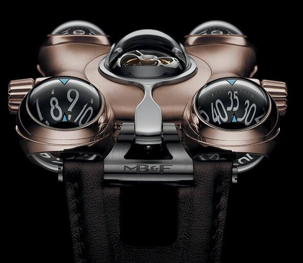 MB & F HOROLOGICAL MACHINE NO.6 SPACE PIRATE 60.RL.B Replica
