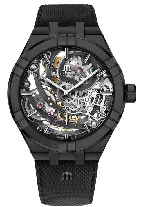 replica Maurice Lacroix Aikon Automatic Skeleton Manufacture 45 mm AI6028-PVB01-030-1 watch