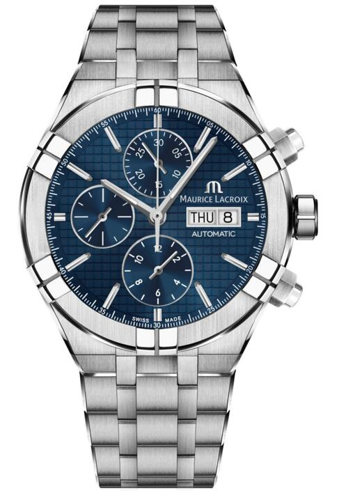 Maurice Lacroix Aikon Automatic Chronograph 44 mm AI6038-SS002-430-1 watches reviews