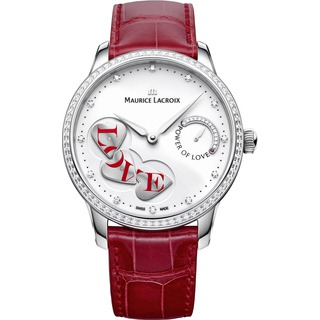 Replica Maurice Lacroix Watch Masterpiece Power of Love Diamonds Steel MP7258-SD501-150-001