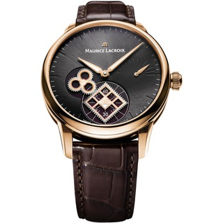 Replica Maurice Lacroix Watch Masterpiece Roue Carrée Seconde Harrods Pink Gold