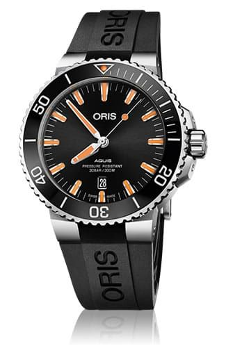 Replica ORIS AQUIS DATE BLACK ORANGE 01-733-7730-4159-07-4-24-64eb watch for sale