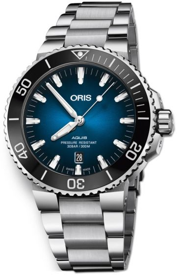 Swiss Luxury Replica ORIS AQUIS CLIPPERTON LIMITED EDITION ON BRACELET watch 01 733 7730 4185-Set MB