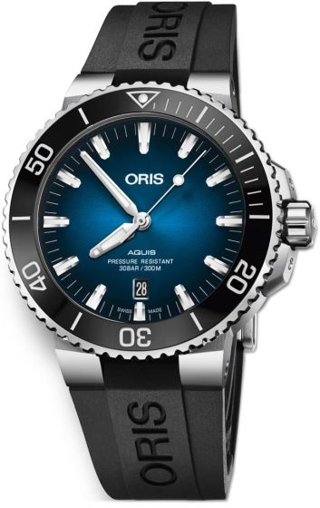 Swiss Luxury Replica ORIS AQUIS CLIPPERTON LIMITED EDITION ON STRAP watch 01 733 7730 4185-Set RS