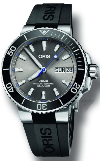 Swiss Luxury Replica ORIS AQUIS HAMMERHEAD LIMITED EDITION watch 01 752 7733 4183-Set RS