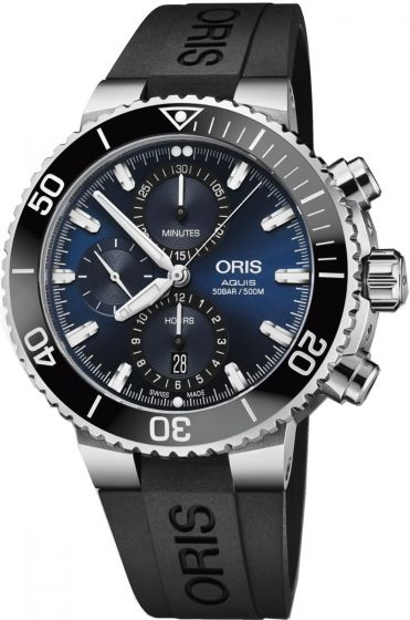 luxury ORIS AQUIS CHRONOGRAPH 01 774 7743 4155-07 4 24 64EB Replica watch