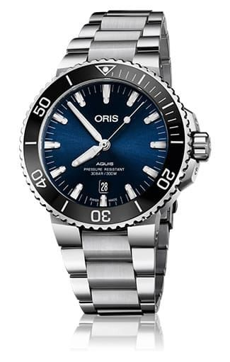Swiss Luxury Replica ORIS AQUIS DATE BLUE DIAL ON BRACELET watch 01-733-7730-4135-07-8-24-05peb