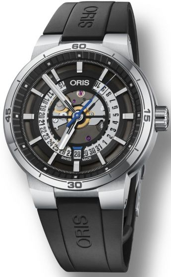 ORIS TT1 ENGINE DATE 01 733 7752 4124-07 4 24 06FC Replica watch