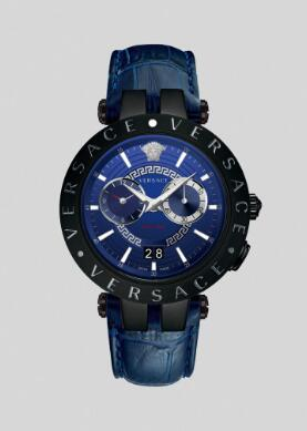 Cheap Versace Watches Price Review V-Race Watch Replica sale for Men PVEBV004-P0019