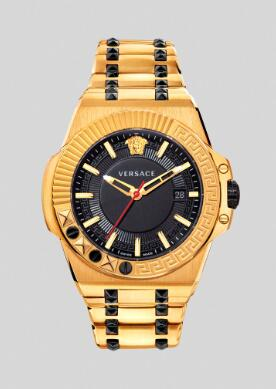 Cheap Versace Watches Price Review Chain Reaction Watch Replica sale for Men PVEDY006-P0019