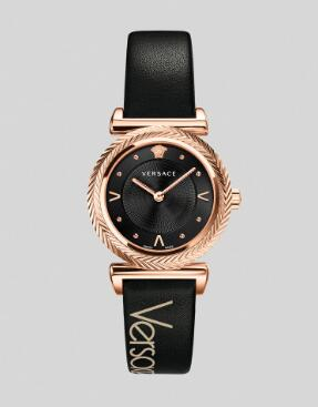 Cheap Versace Watches Price Review V-Motif Vintage Logo Watch Replica sale for Women PVERE008-P0018