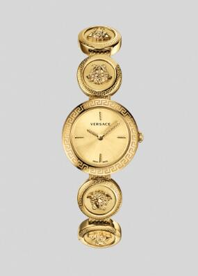 Cheap Versace Watches Price Review Medusa Stud Icon Bracelet Watch Replica sale for Women PVERF007-P0018