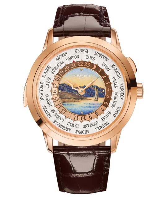 Cheap Sale Patek Philippe World Time Minute Repeater 5531R 531R-001 watch