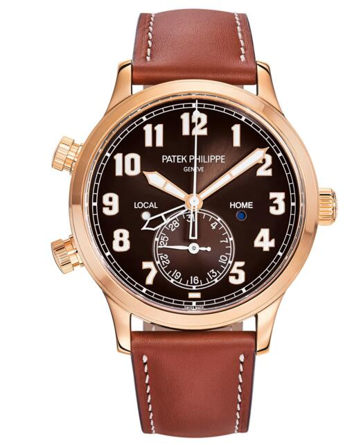 Buy luxury replica Patek Philippe Calatrava Pilot Travel Time 5524R 5524R-001 watch
