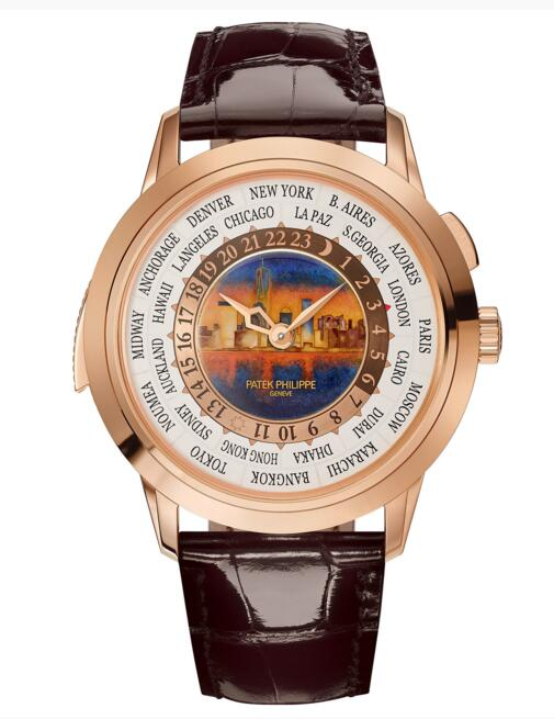 Cheap Sale Patek Philippe World Time Minute Repeater 5531 5531R-011 watch