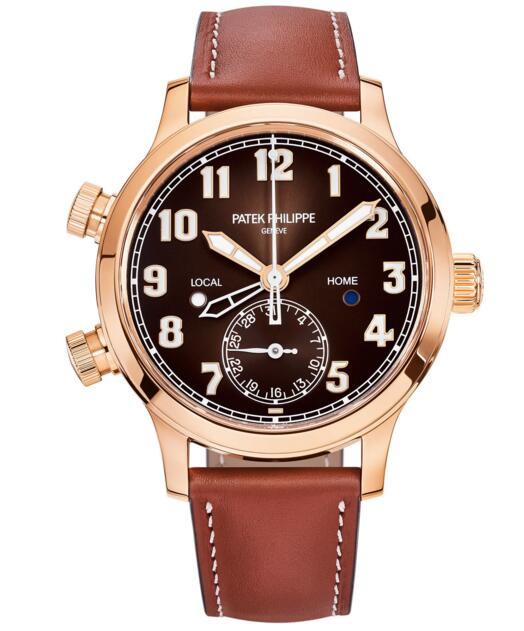 Buy luxury replica Patek Philippe Calatrava Pilot Travel Time 7234R 7234R-001 watch