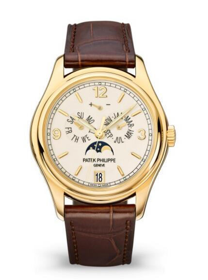 Wholesale Patek Philippe Complications Moon Phase Yellow Gold Watch 5146J-001