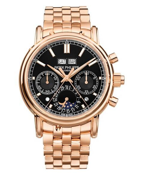 Patek Philippe replica Grand Complications Rose Gold Chronograph 5204/1R-001 watch