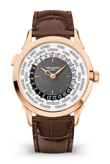 Patek Philippe Complications Rose Gold World Time Watch 5230R-001 Review