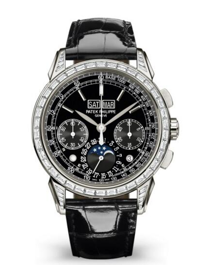 Buy Patek Philippe Grand Complications Black Dial Chronograph 5271P-001 watch Price