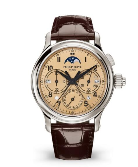 Patek Philippe replica Grand Complications Monopusher Chronograph 5372P-010 watch