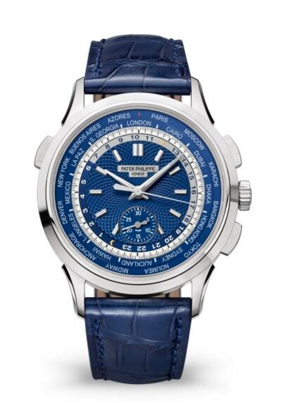 Patek Philippe Complications World Time Chronograph Watch 5930G-001 Review