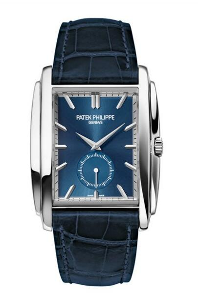 Buy Patek Philippe Gondolo Small Seconds White Gold Watch 5124G-011