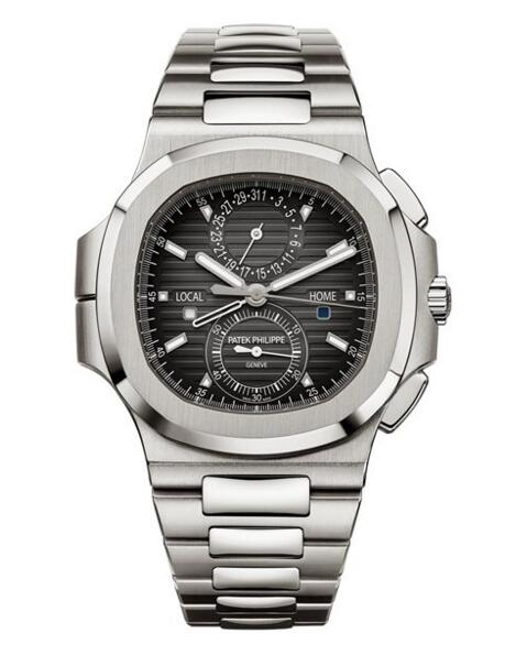 Cheap Patek Philippe Nautilus Steel Travel Time Chronograph 5990/1A-001