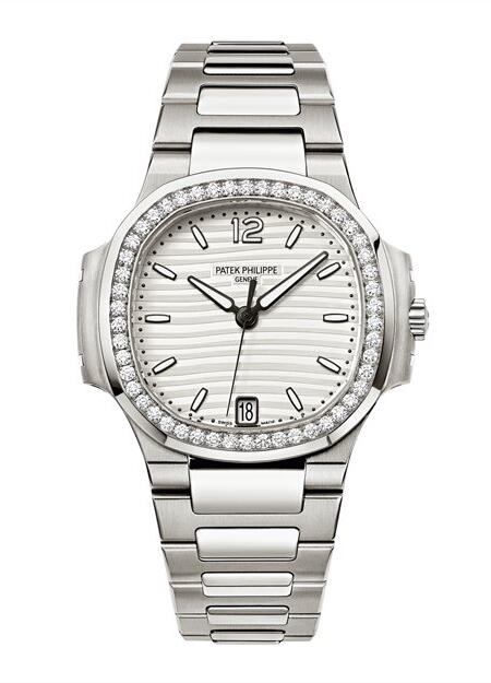 Wholesael Patek Philippe Nautilus Stainless Steel White Dial Watch 7018/1A-001