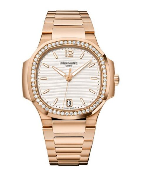 Wholesael Patek Philippe Nautilus Rose Gold Ladies Watch 7118/1200R-001