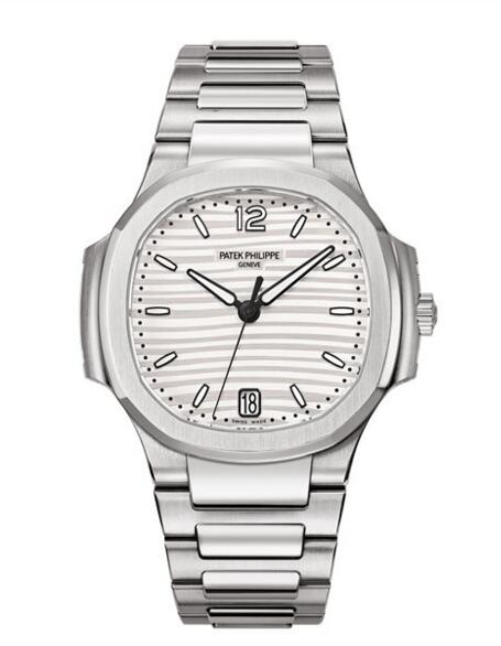 Wholesael Patek Philippe Nautilus Ladies Silver Dial Stainless Steel 7118/1A-010 watch