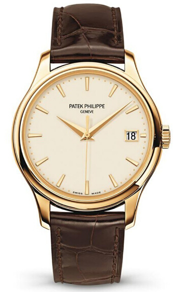 Replica Patek Philippe Calatrava 5227 Yellow gold replica Watch