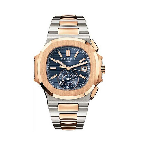 Replica Patek Philippe Stainless Steel and Rose Gold Men Nautilus 5980/1AR-001 replica Watch