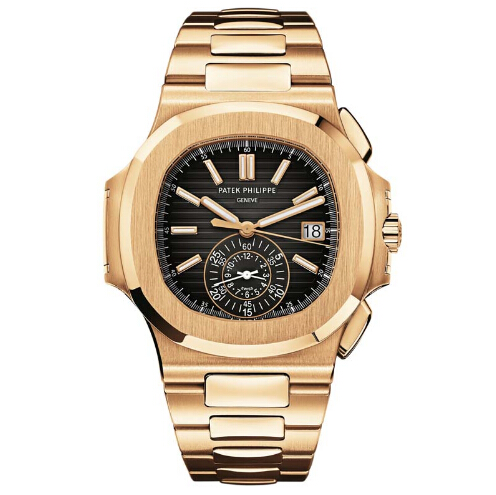 Replica Patek Philippe Rose Gold Men Nautilus 5980/1R-001 replica Watch