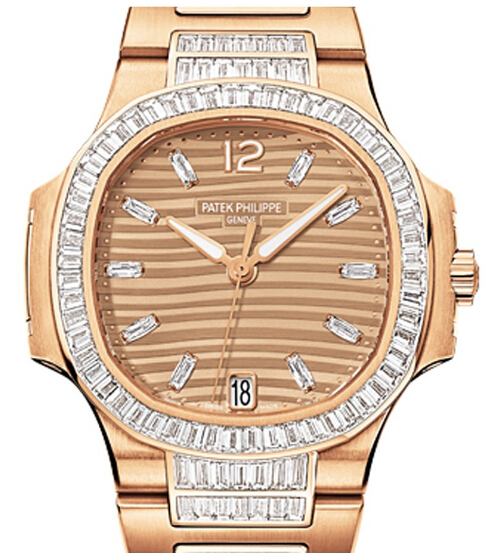 Replica Patek Philippe Ladies Automatic Nautilus – Haute Joaillerie 7014/1R-001 replica Watch