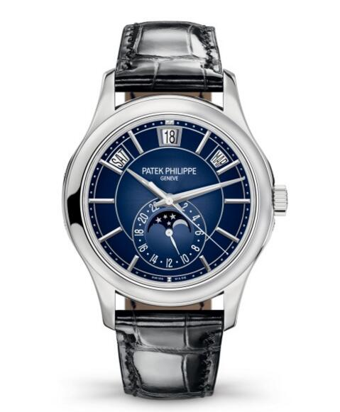 Buy Patek Philippe Complications Moon Phase White Gold Watch 5205G-013 watch price