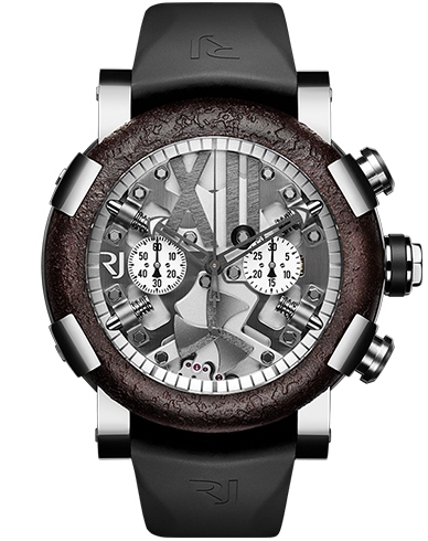 Buy RJ Replica steampunk-chronograph-steel-rusted-metal watch RJ.T.CH.SP.001.01
