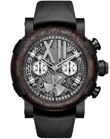 Buy RJ Replica steampunk-chronograph-black-rusted-metal watch RJ.T.CH.SP.002.01