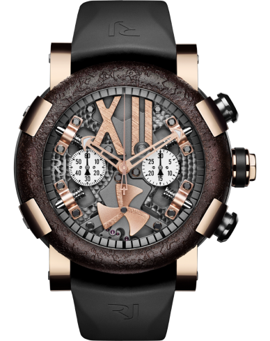 Buy RJ Replica steampunk-chronograph-gold-rusted-metal watch RJ.T.CH.SP.003.01