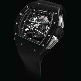 Replica Richard Mille Watch-RM 061-01 Yohan Blake All-Black TZP Black Ceramic
