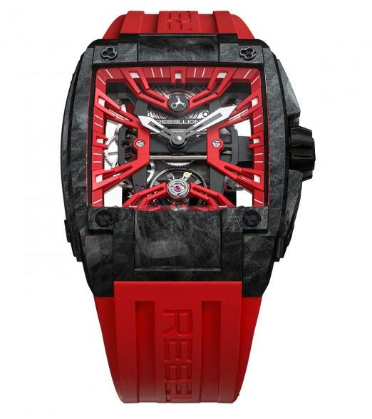 Rebellion Re-Volt Skeletonized watches for sale