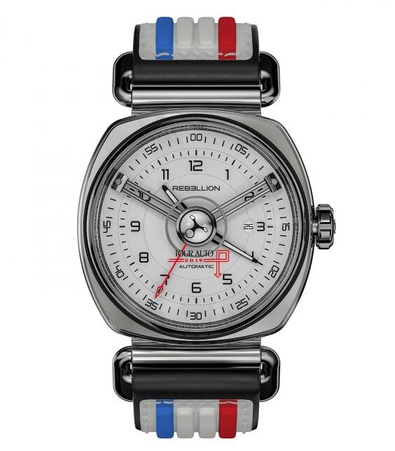 Rebellion Twenty-One 3 Hands Tour Auto replica watches